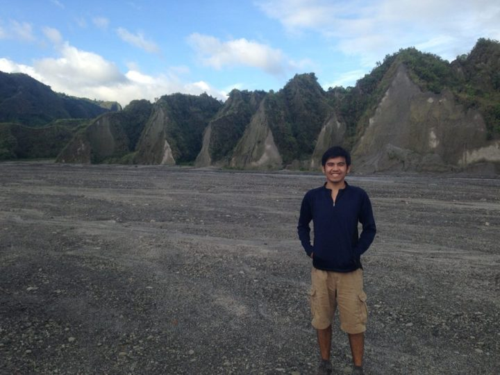 Last June 22, I joined a trek to Mount Pinatubo. We traversed a valley of lahar sediments and rock formations.