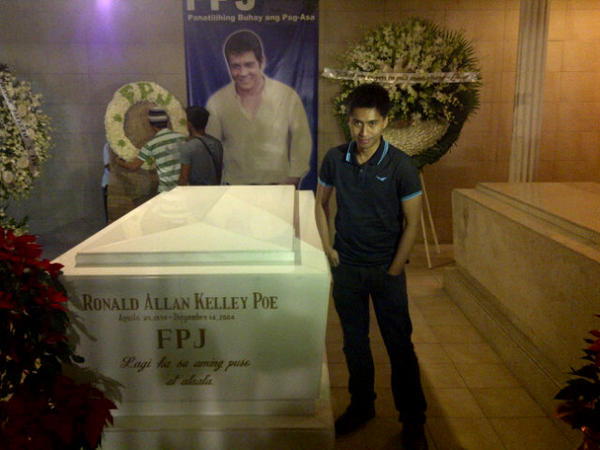 Death anniversary of FPJ