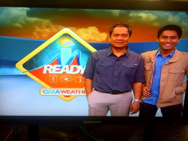 IM Ready with resident meteorologist Mang Tani Cruz
