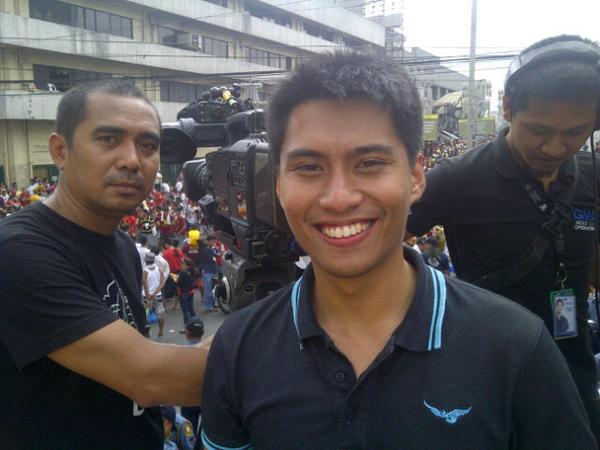 Black Nazareno selfie