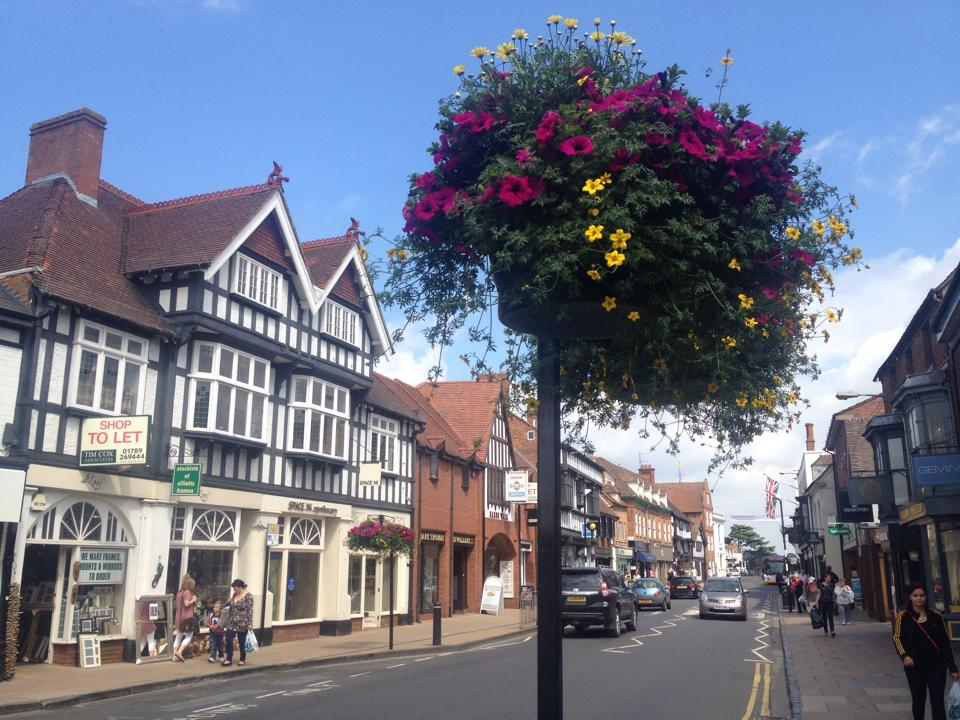 The picturesque Stratford-upon-Avon.