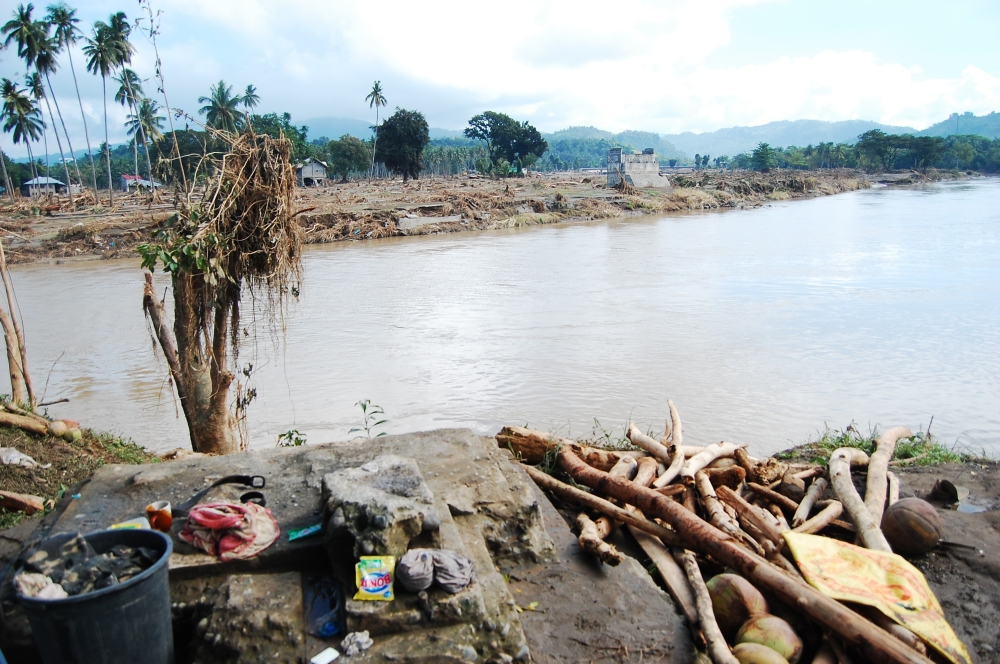 Cagayan de Oro River after typhoon Sendong