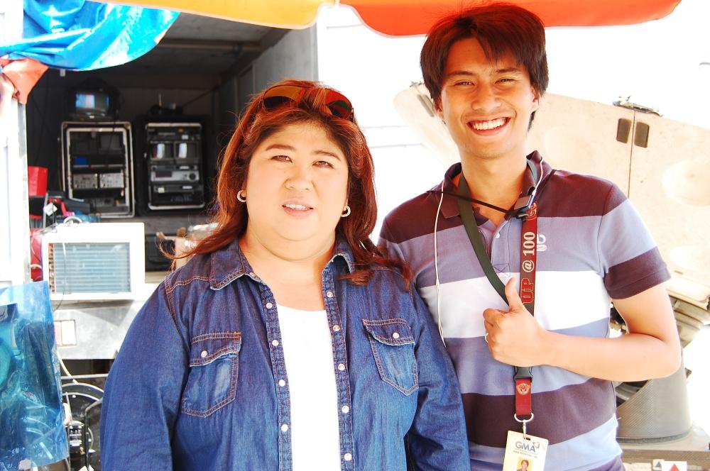 With Jessica Soho in Iligan