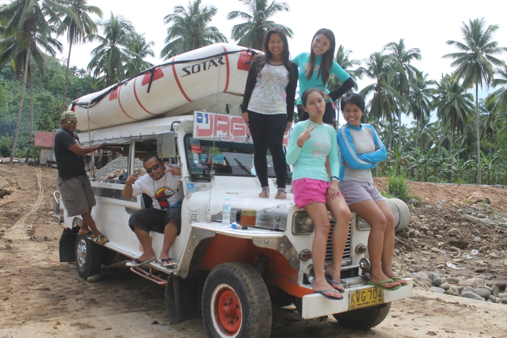 Raft on a Jeepney