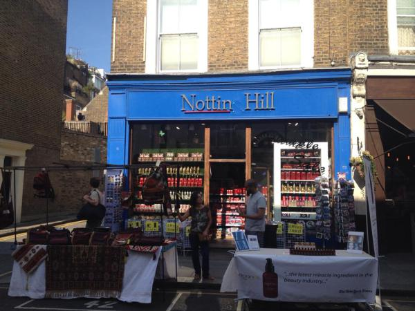 Notting Hill. Yes, the movie.