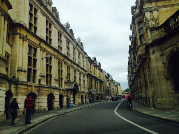 Poetic Cambrige Street