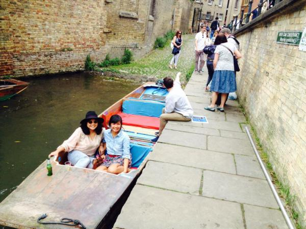 Punting in the River Cam