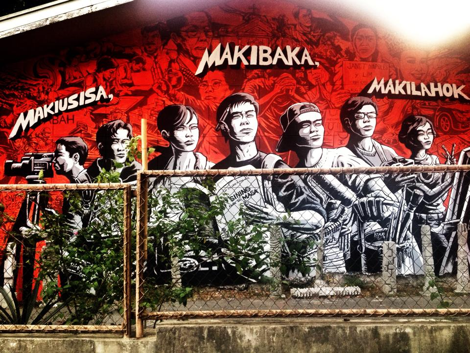 Mural in the UP College of Fine Arts