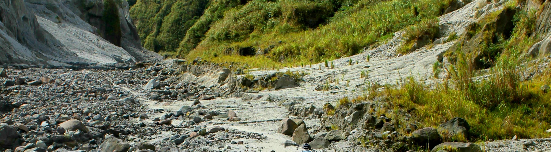 Trekking Mt. Pinatubo. Written by Justin Joyas for SubSelfie.com.
