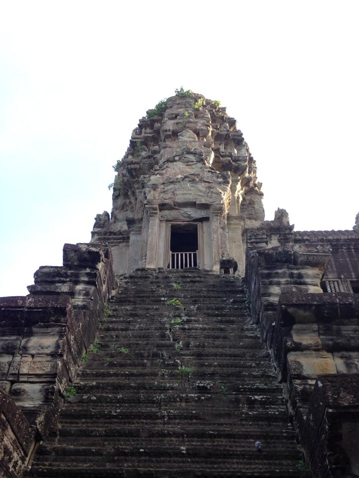 Towering temples