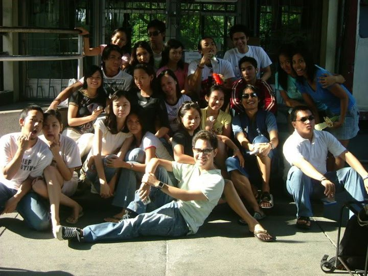 Besides, I had good friends in the College of Mass Communication. Photo courtesy: Angel Fernandez