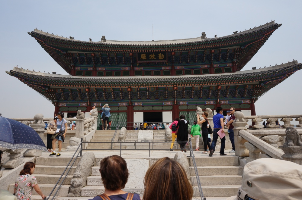 Gyeongbokgung or Gyeongbok Palace. Evoking memories of Jang Geum in Jewel in the Palace