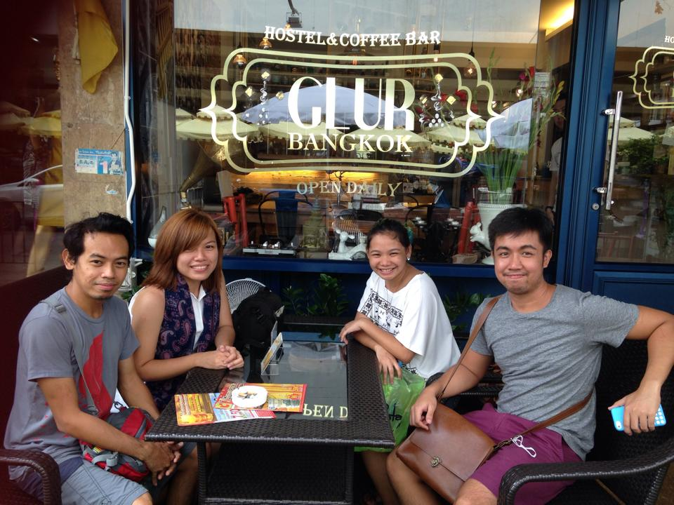 (left to right: Sherwin, Marj, me and Toni)