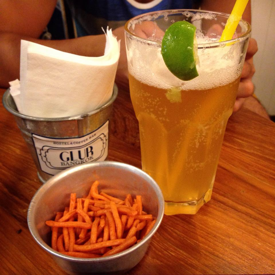 Honey beer. My last night in Indochina