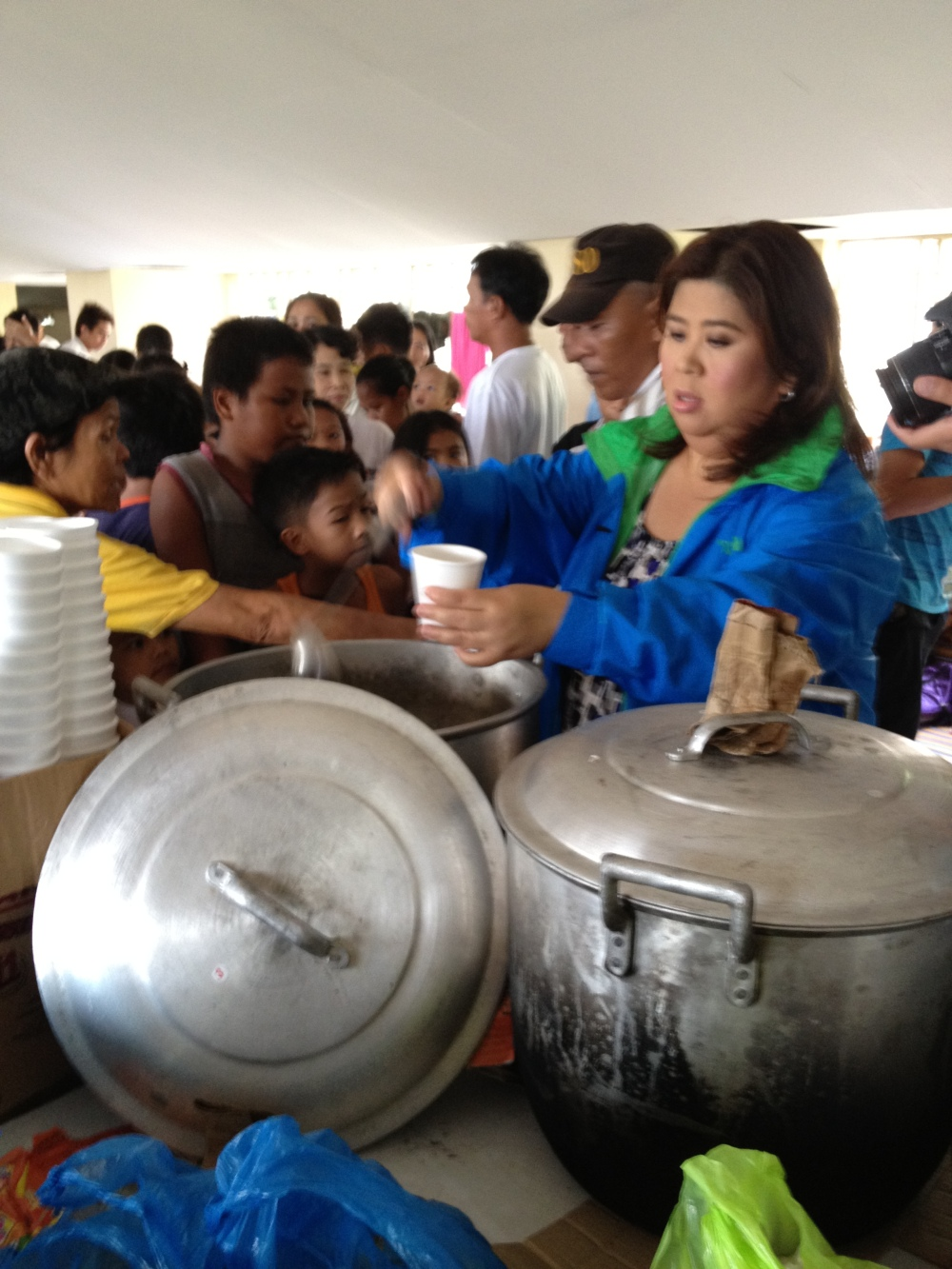 Soup Kitchen with Ms. Jessica Soho