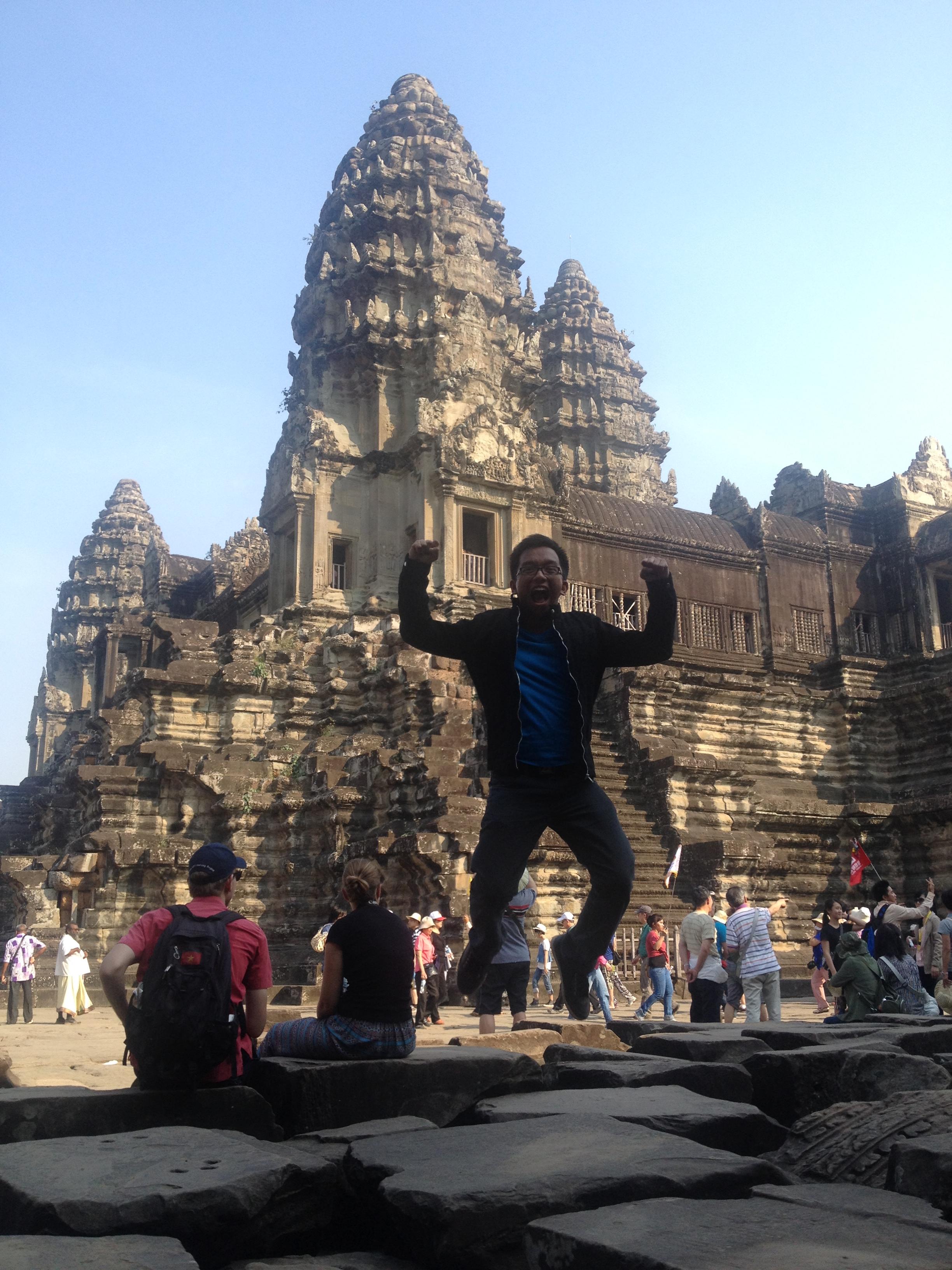 Angkor Jump Shot