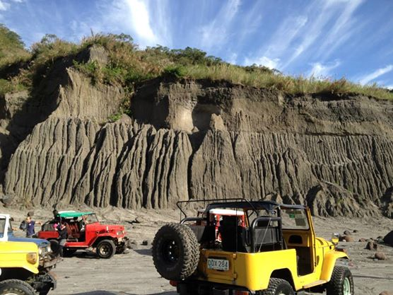Landscapes in Mount Pinatubo