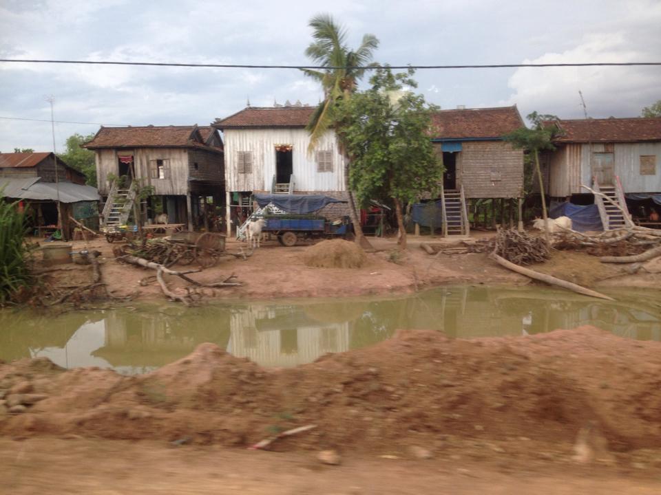 Rural community in Cambodia