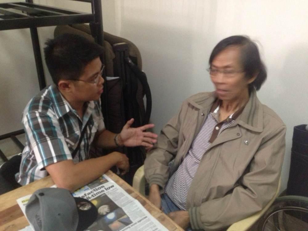 John Consulta with Palparan