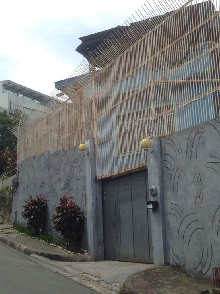 Palparan residence. Photo courtesy: Ian Cruz
