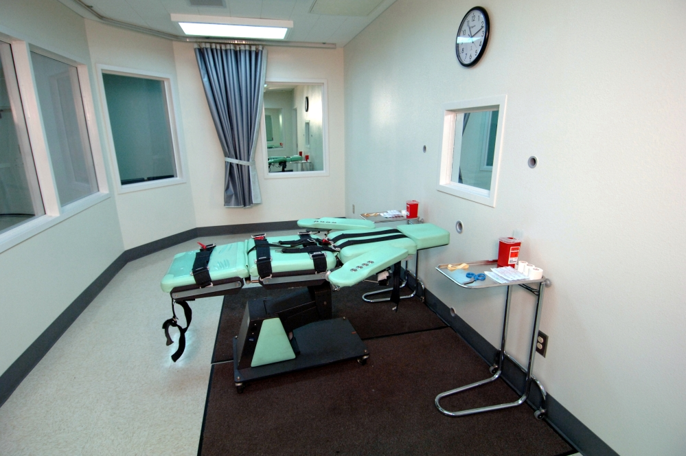 Lethal injection in California