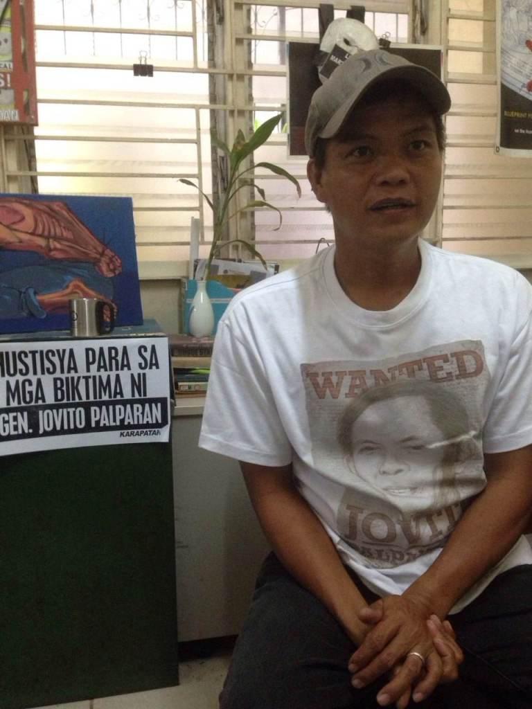 Raymond Manalo. Photo courtesy: Ian Cruz