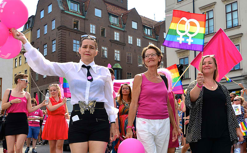 Stockholm Pride 2014. Photo courtesy: Frankie Fouganthin