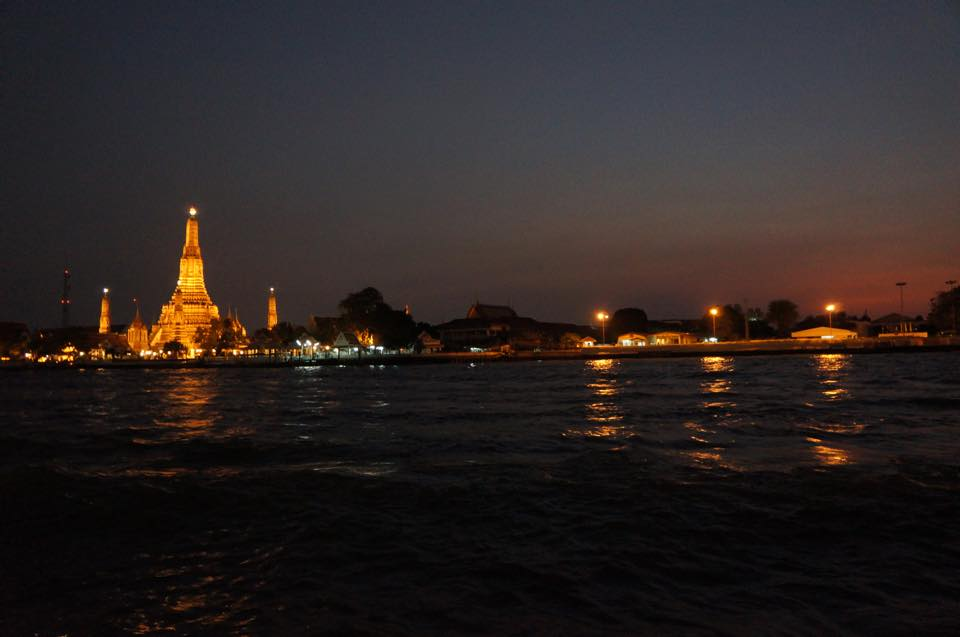 A night in Chao Phraya