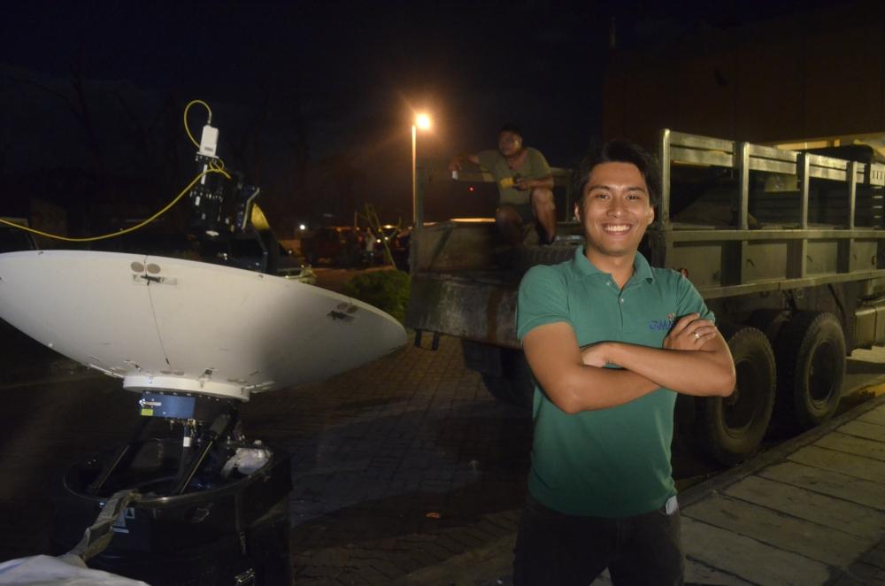 Ormoc-Leyte-Bam-Alegre-SubSelfie-Yolanda-Typhoon-Haiyan-Satellite-Dish