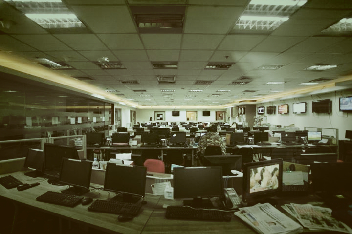 The GMA Newsroom