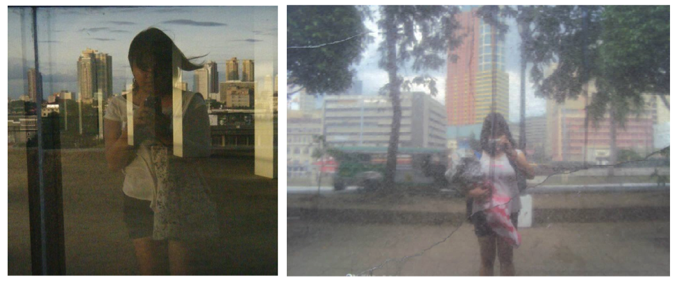Left: On top of the Juan Luna E-Services Building after a tour with Rence Chan (which I attended alone). Right: At the Plaza Mexico in Intramuros for my 21st birthday.