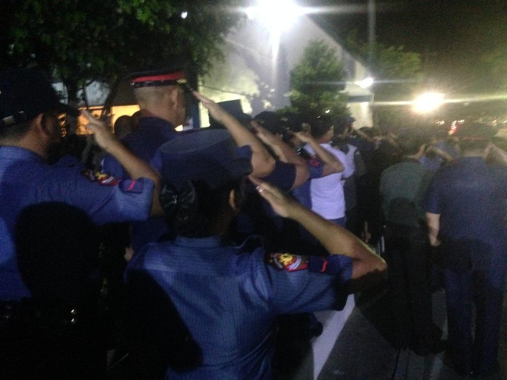 PNP-SAF-Mamasapano-Maguindanao-Massacre-Oplan-Wolverine-Marsan-SubSelfie-Blog-closed-caskets-Camp-Bagong-Diwa-Police-salutes
