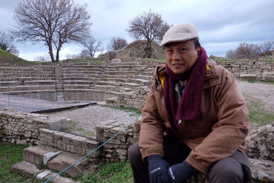 Howie Severino in Turkey to shoot an I-Witness documentary for GMA News and Public
