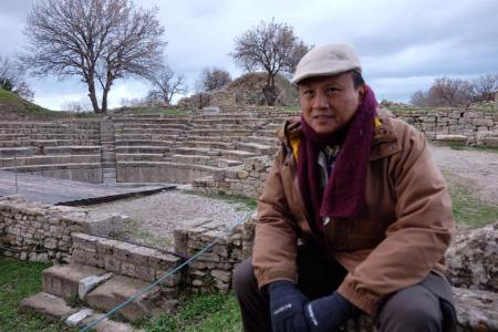 Howie Severino in Turkey to shoot an I-Witness documentary for GMA News and Public Affairs
