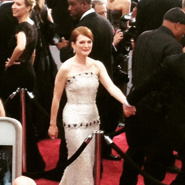Julianne Moore. 2015 Best Actress Winner for Still Alice