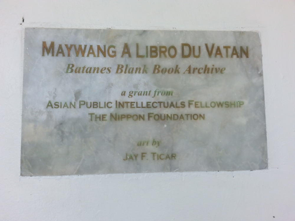 Batanes Blank Book Archive