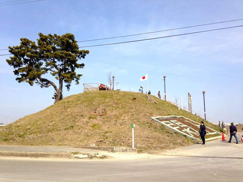 The hill that was once a slice of paradise in the town of Yuriage stood witness to the two fateful days in Sendai's history.
