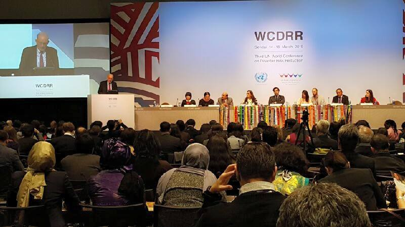 3rd United Nations World Conference on Disaster Risk Reduction in Sendai, Japan