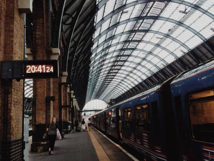 The King's Cross - St. Pancras station