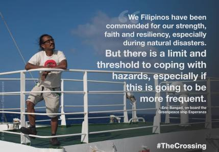 Eric Bangad. Courtesy: Greenpeace Philippines
