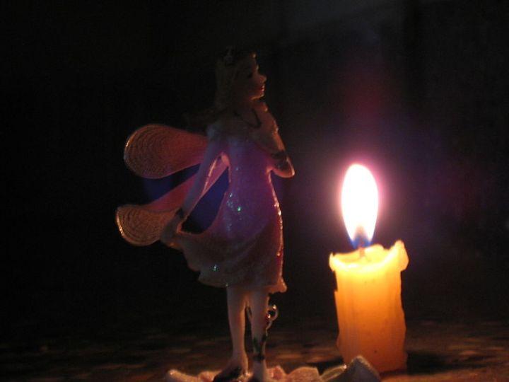In the dark. Author: Gowri Sankar