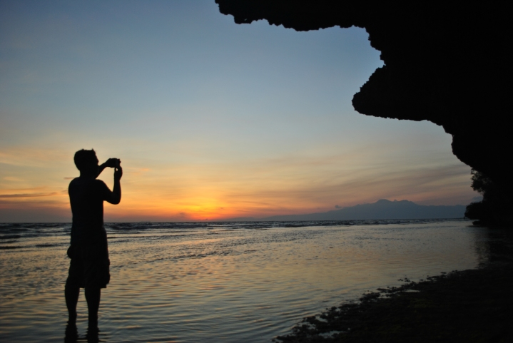 Sunset in Siquijor.