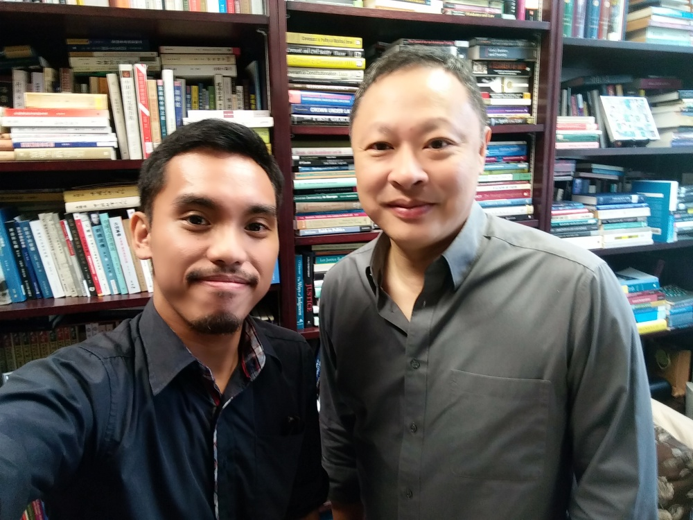 Professor Benny Tai.