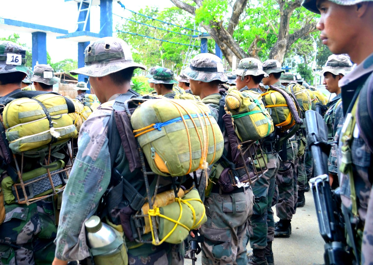 Inside the Barracks of the PNP Special Action Force