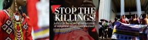 Subselfie - Tanaw Mindanao -  Lian Buan - The Lumads are calling out for help, who's listening? - Philippine Collegian, Stop the Killings - Header
