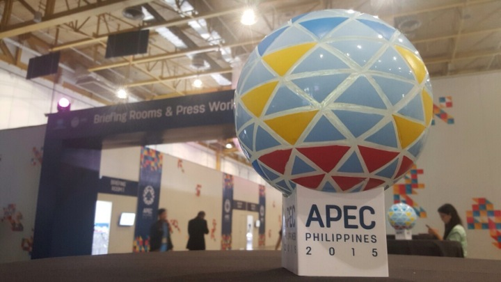The International Media Center. 2015 APEC Summit. Photo courtesy: Sophia Balod