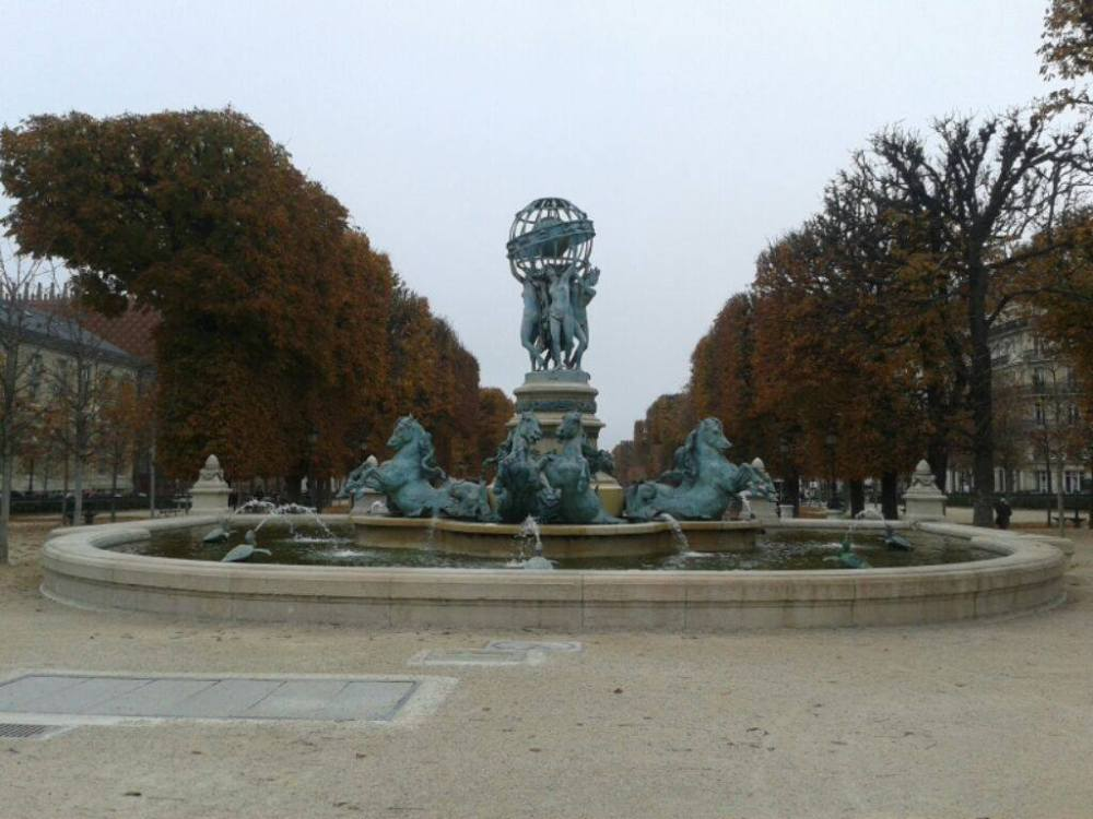 Jardin de Luxembourg.