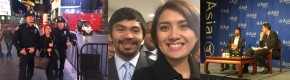 New York with Manny Pacquiao by Mav Gonzales. Written for SubSelfie.com
