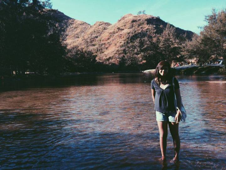 Subselfie - Lian Buan - There are places I remember - Anawangin Cove Zambales2