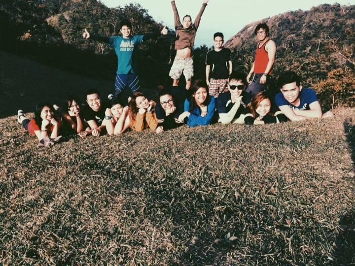 At the summit of Mt. Daguldol
